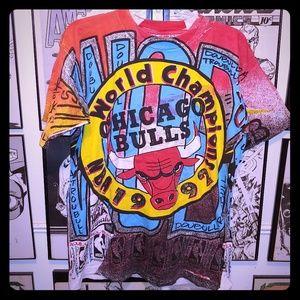 Amazing Vintage Chicago Bulls 1992 Champs Shirt